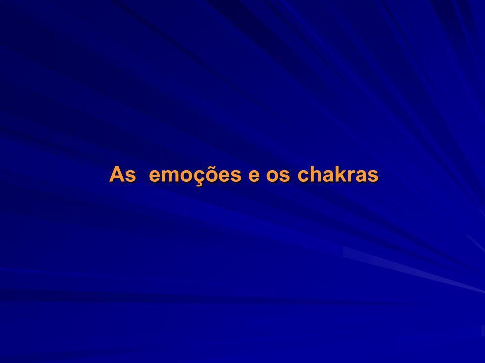 As emoções e os chakras