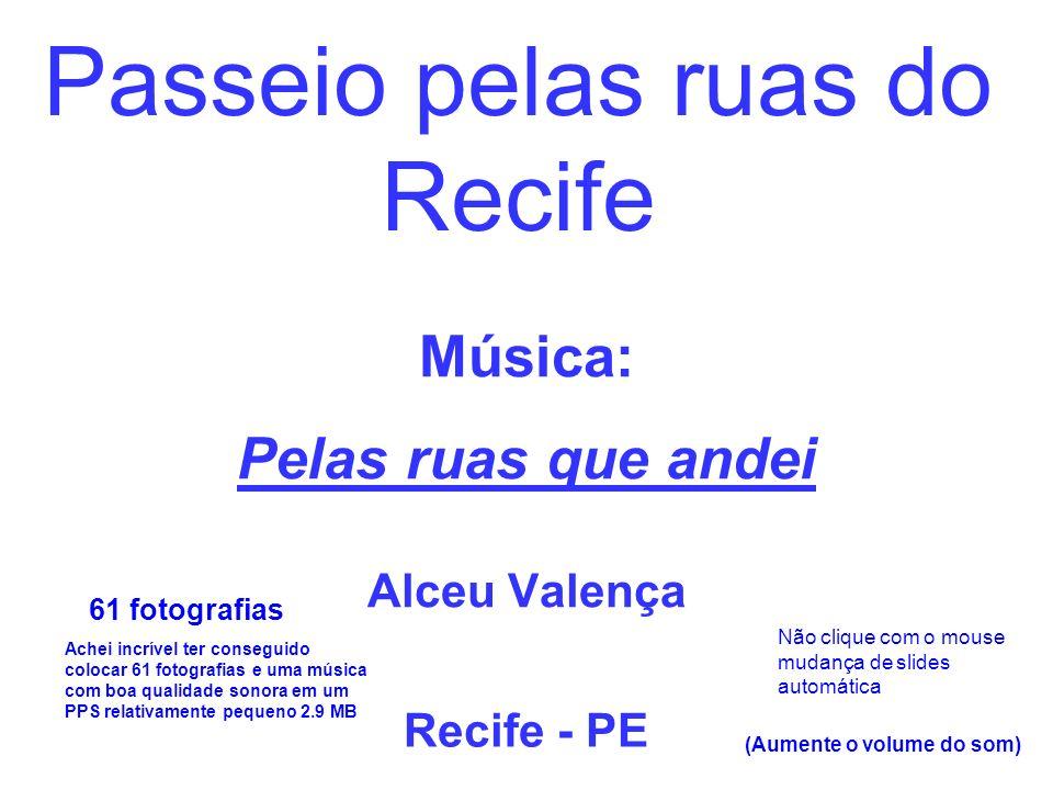 Música: Pelas ruas que andei Alceu Valença
