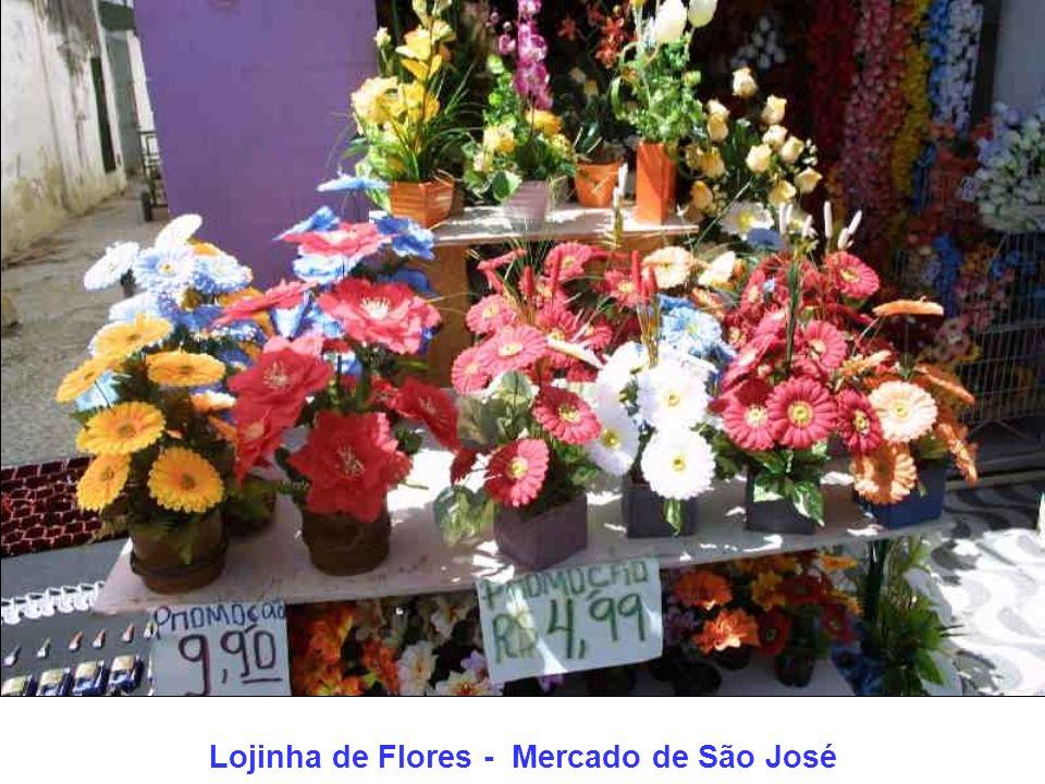 Lojinha de Flores - Mercado de São José
