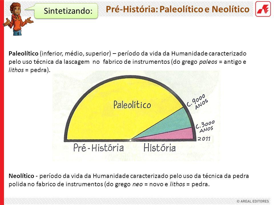 Pré-História: Paleolítico e Neolítico