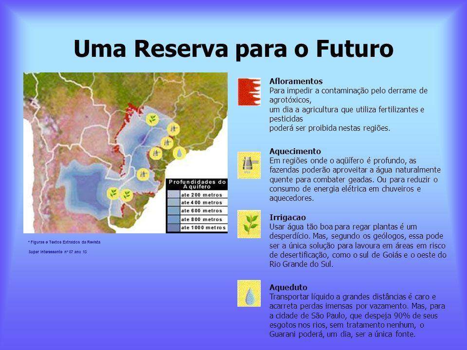 Uma Reserva para o Futuro