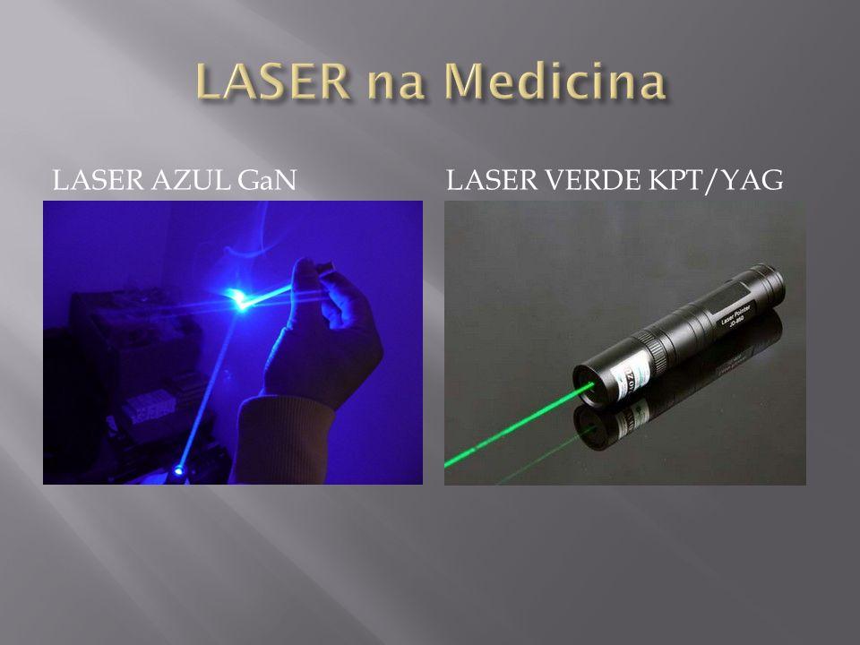 LASER na Medicina Laser AZUL GaN Laser Verde KPT/YAG
