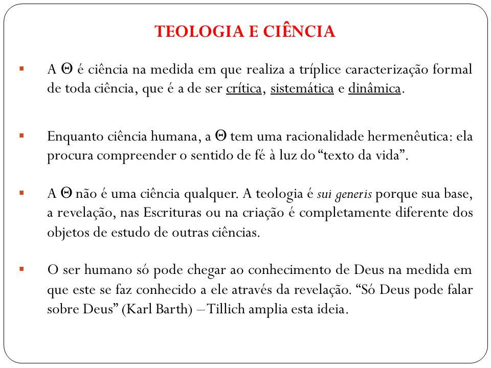 TEOLOGIA E CIÊNCIA