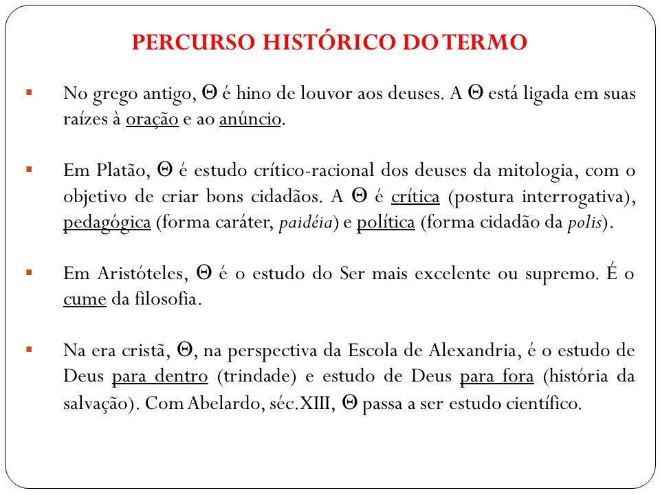 Percurso histórico do termo