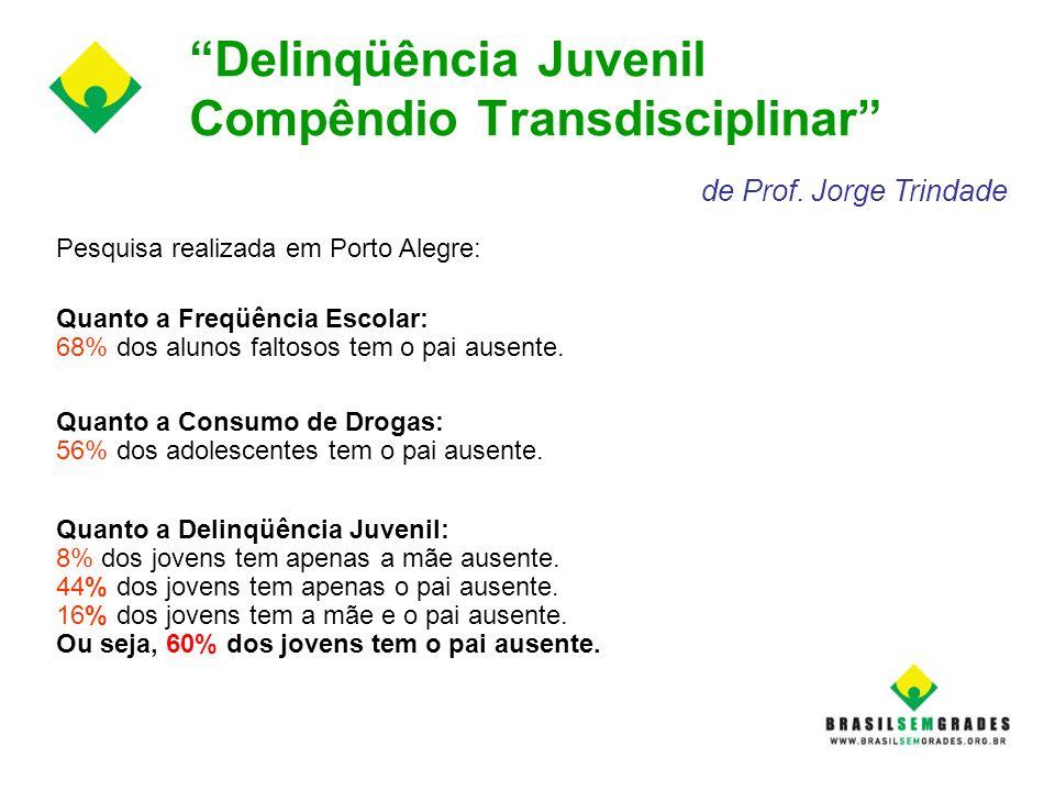 Delinqüência Juvenil Compêndio Transdisciplinar