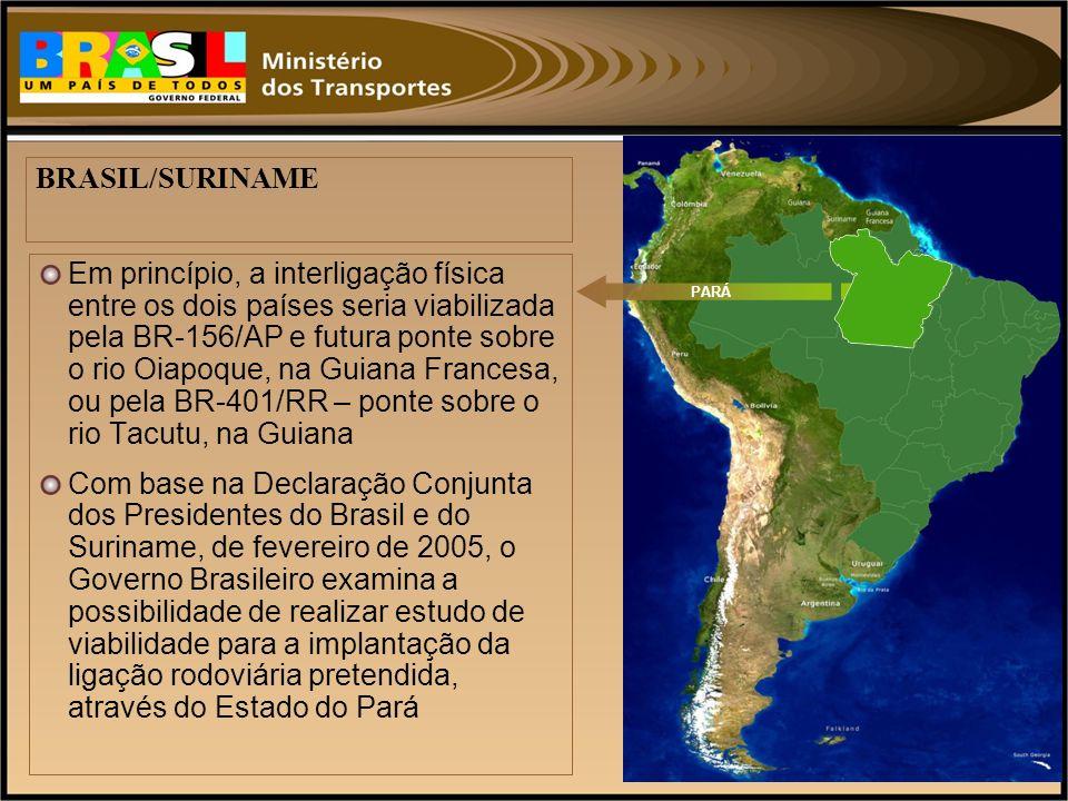 BRASIL/SURINAME