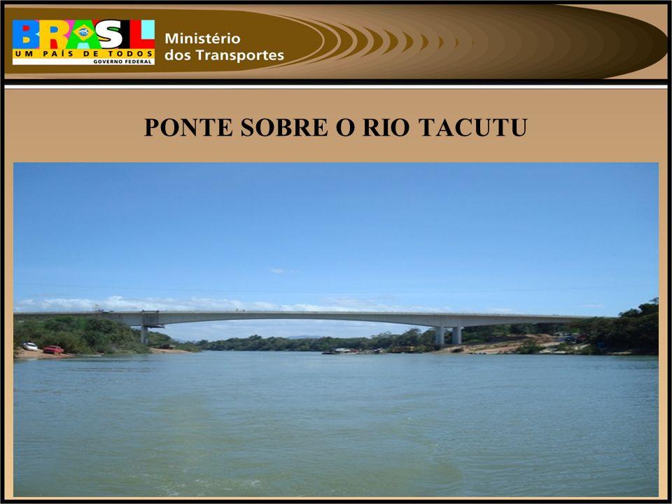 PONTE SOBRE O RIO TACUTU