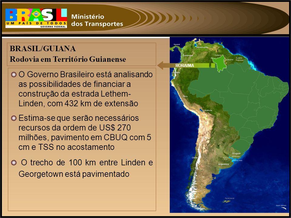 Rodovia em Território Guianense
