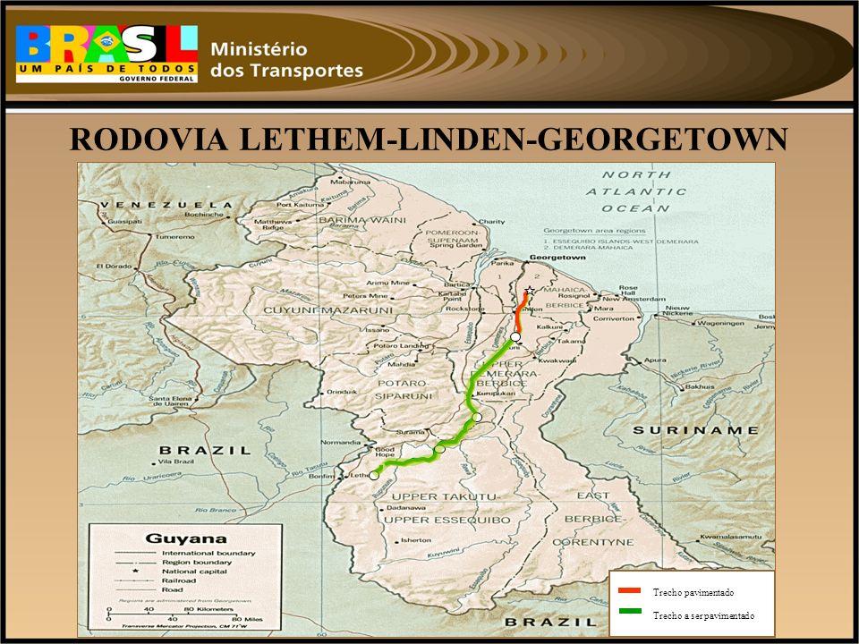 RODOVIA LETHEM-LINDEN-GEORGETOWN