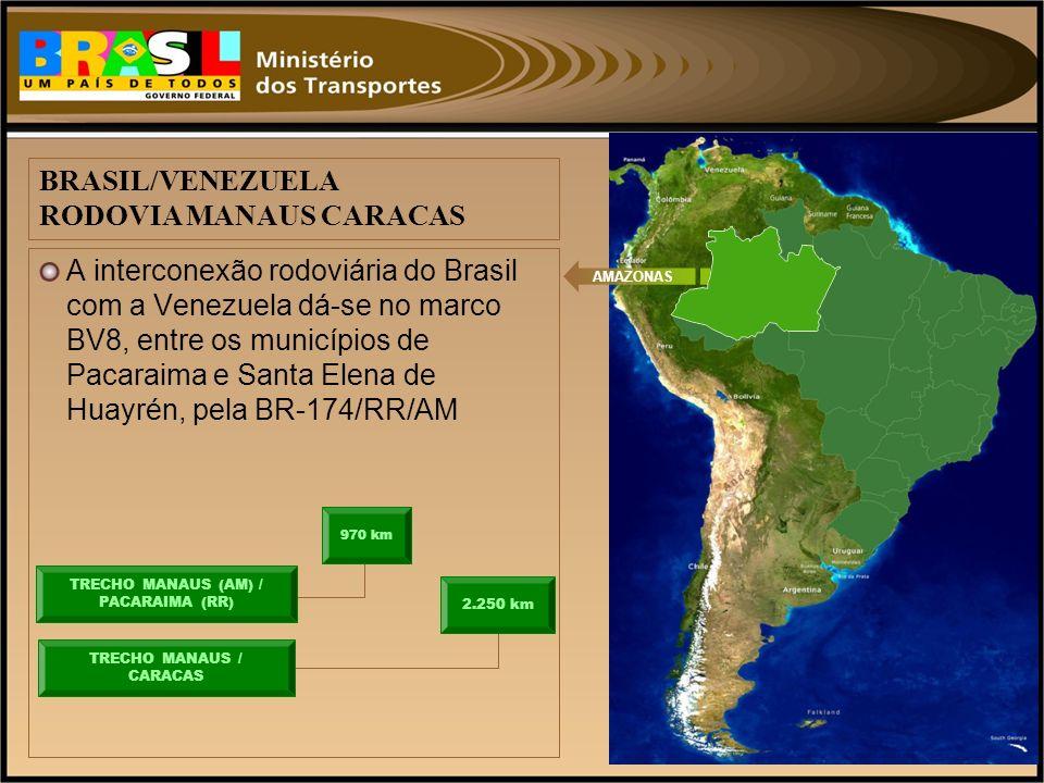 BRASIL/VENEZUELA RODOVIA MANAUS CARACAS