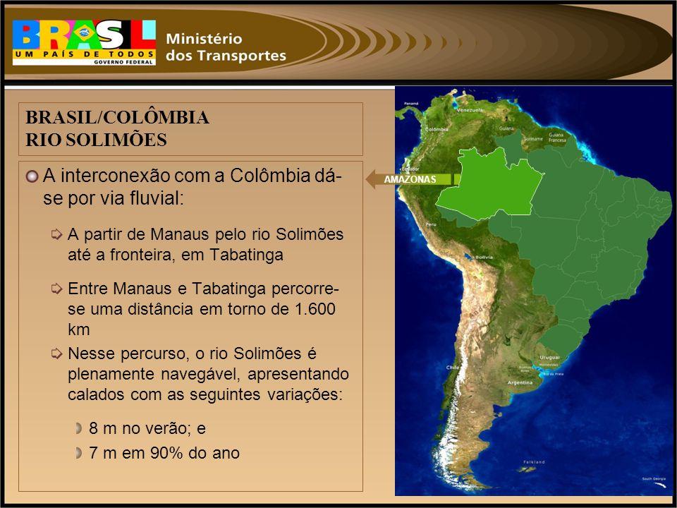 BRASIL/COLÔMBIA RIO SOLIMÕES