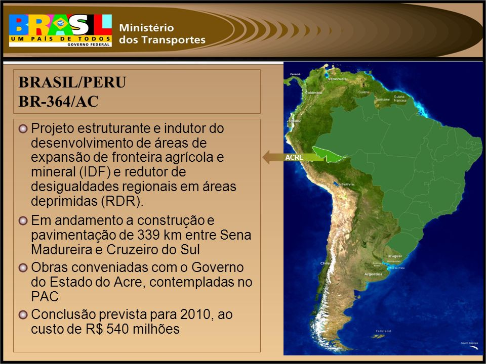BRASIL/PERU BR-364/AC