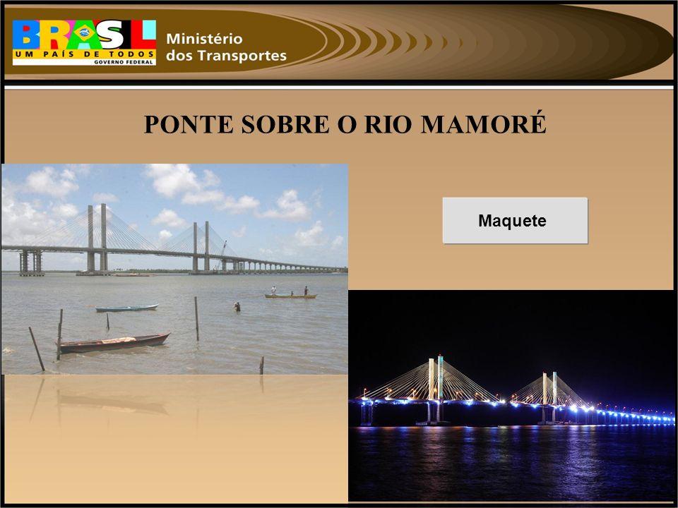 PONTE SOBRE O RIO MAMORÉ
