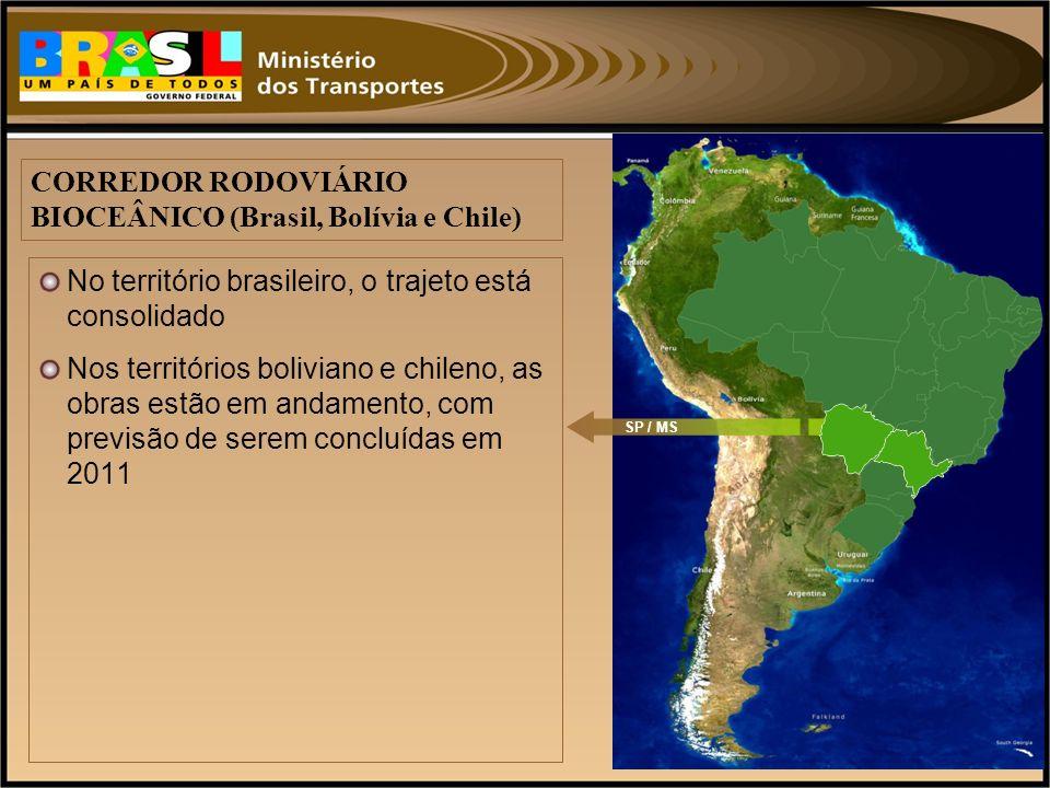 CORREDOR RODOVIÁRIO BIOCEÂNICO (Brasil, Bolívia e Chile)