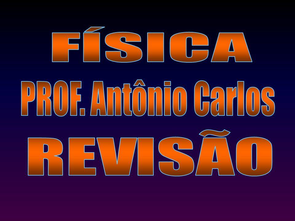 FÍSICA PROF. Antônio Carlos REVISÃO