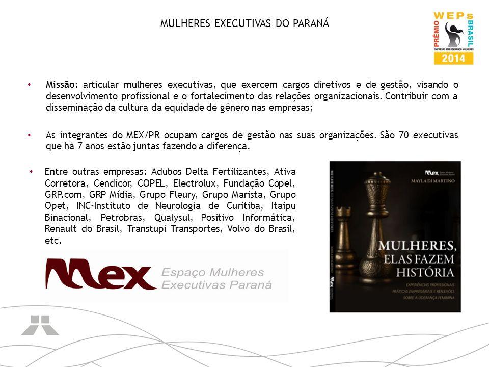 MULHERES EXECUTIVAS DO PARANÁ