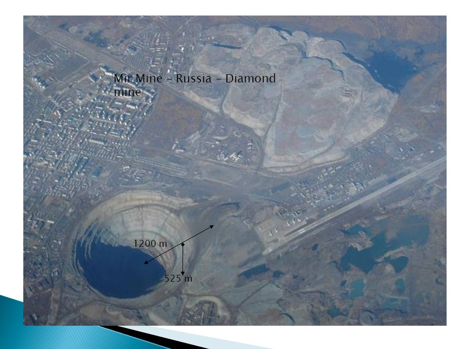 Mir Mine – Russia – Diamond mine