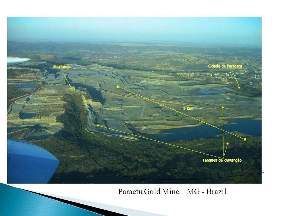 Paractu Gold Mine – MG - Brazil