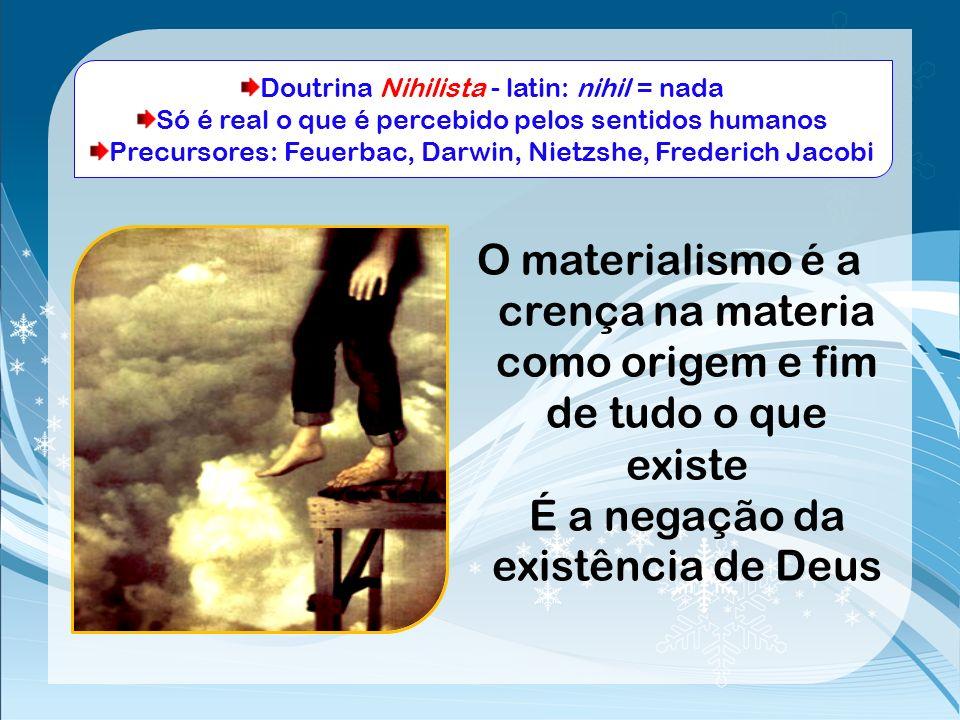 Doutrina Nihilista - latin: nihil = nada