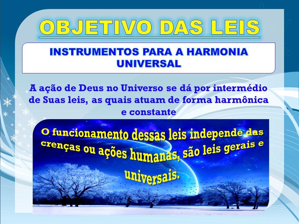 INSTRUMENTOS PARA A HARMONIA UNIVERSAL