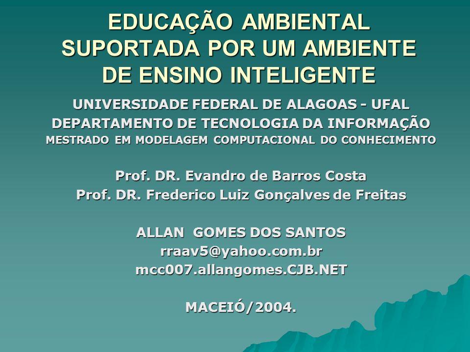 EDUCAÇÃO AMBIENTAL SUPORTADA POR UM AMBIENTE DE ENSINO INTELIGENTE