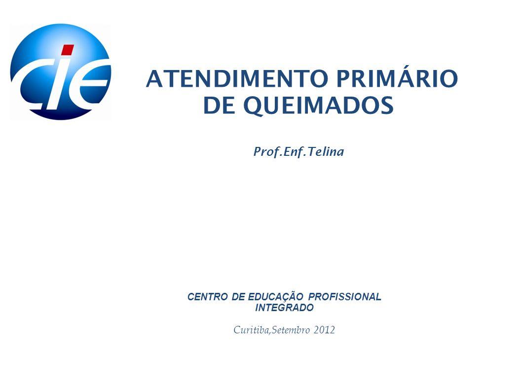 ATENDIMENTO PRIMÁRIO DE QUEIMADOS Prof.Enf.Telina
