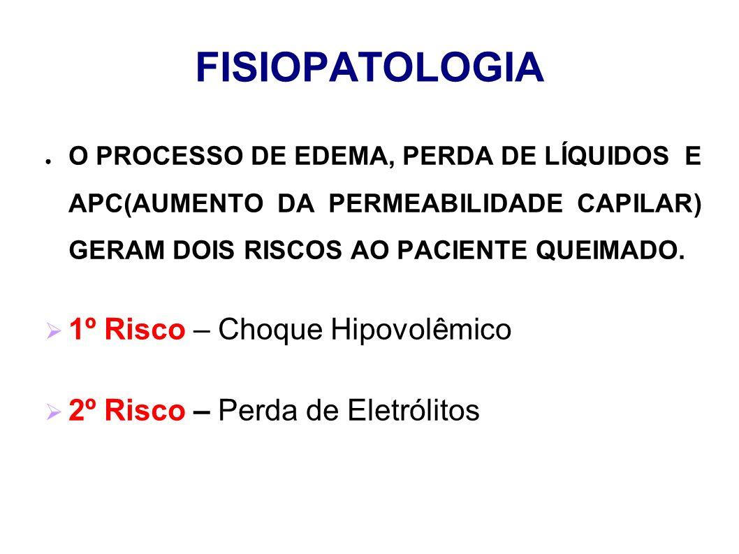 FISIOPATOLOGIA 1º Risco – Choque Hipovolêmico