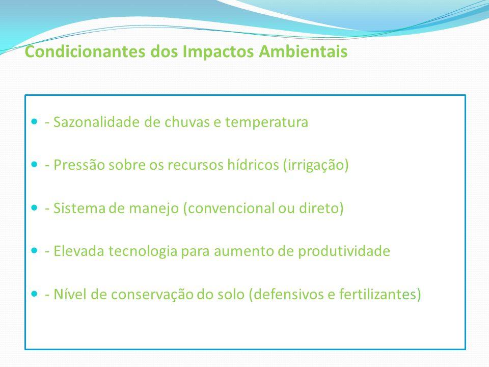 Condicionantes dos Impactos Ambientais