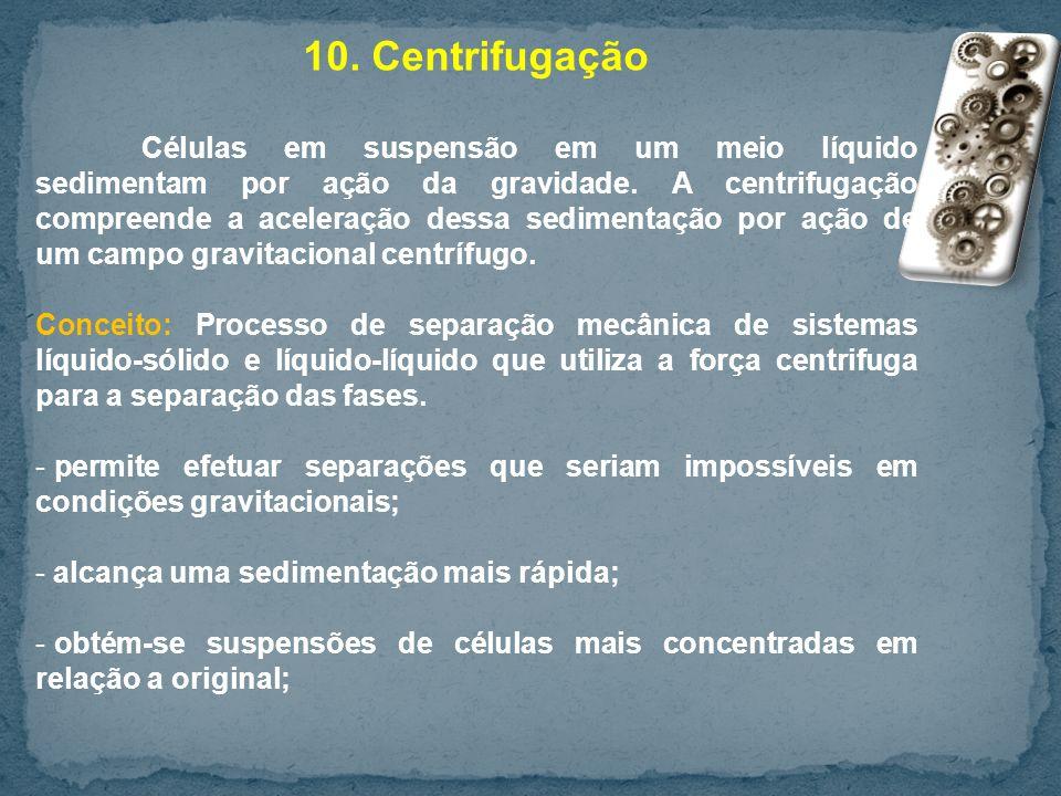 10. Centrifugação