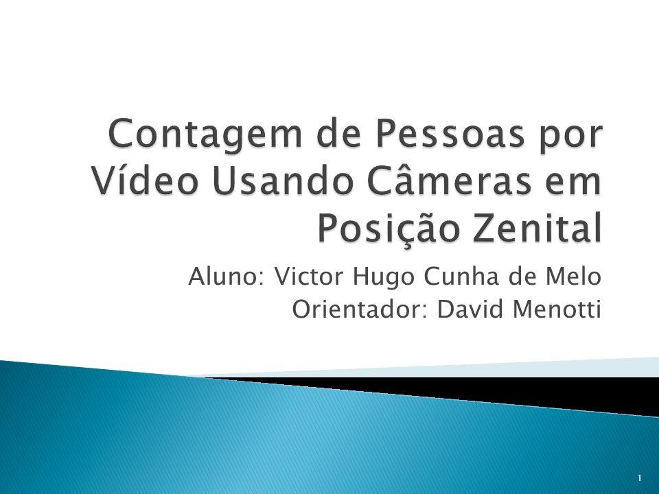 Contagem de Pessoas por Vídeo Usando Câmeras em Posição Zenital