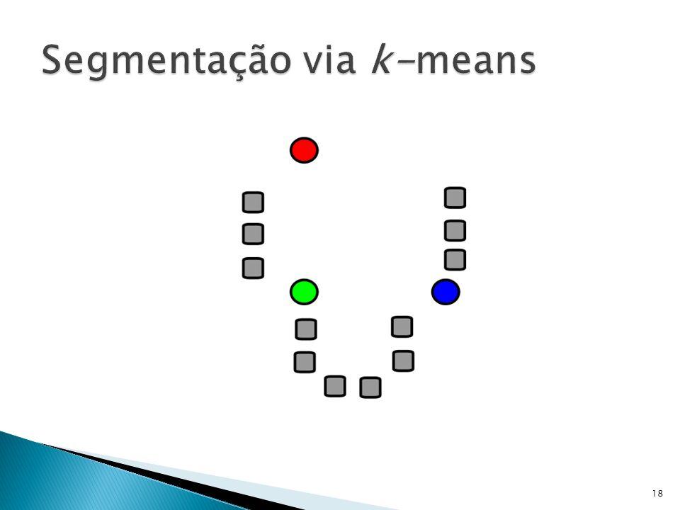 Segmentação via k-means