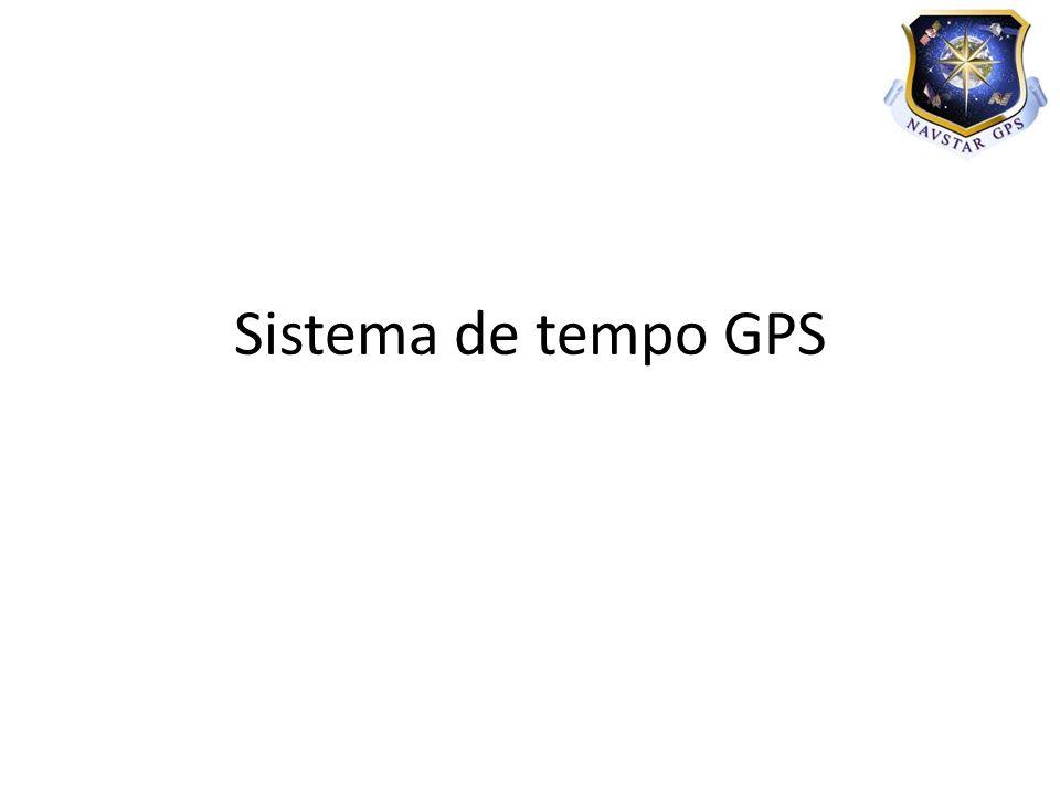 Sistema de tempo GPS