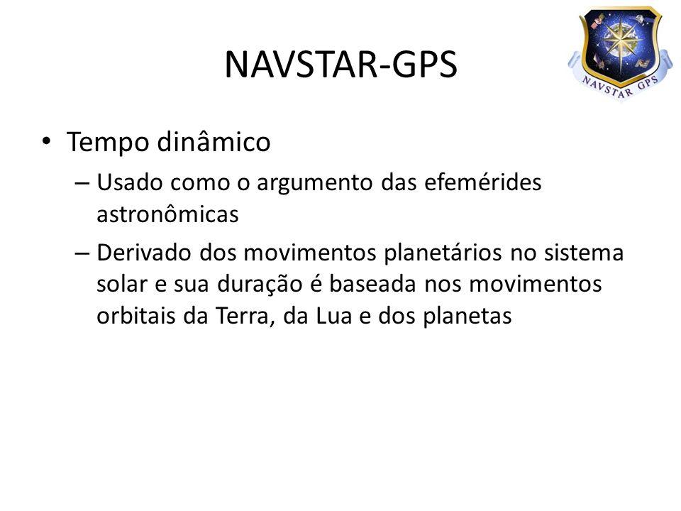 NAVSTAR-GPS Tempo dinâmico