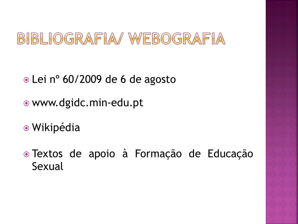 Bibliografia/ Webografia