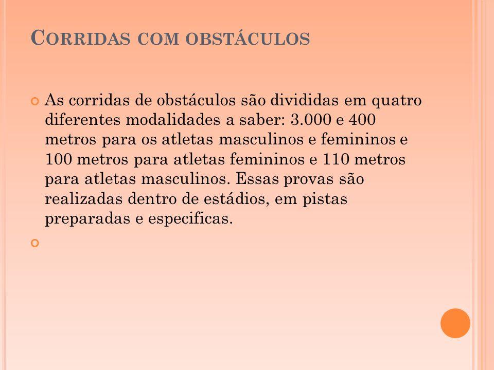 Corridas com obstáculos