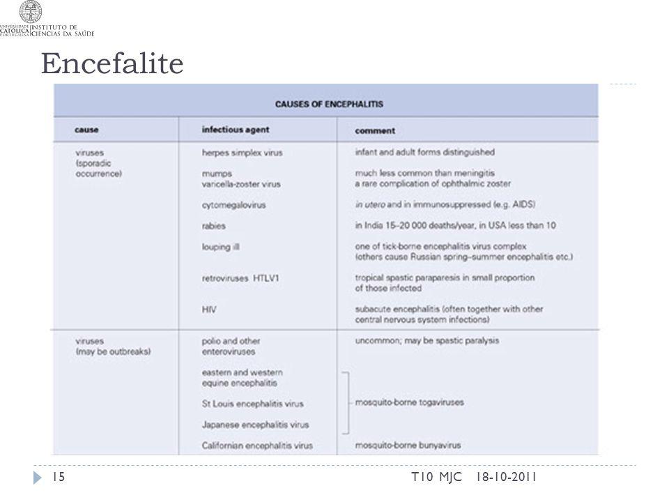 Encefalite T10 MJC 18-10-2011