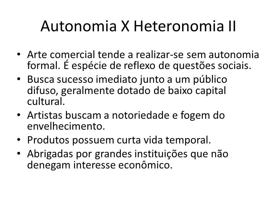 Autonomia X Heteronomia II