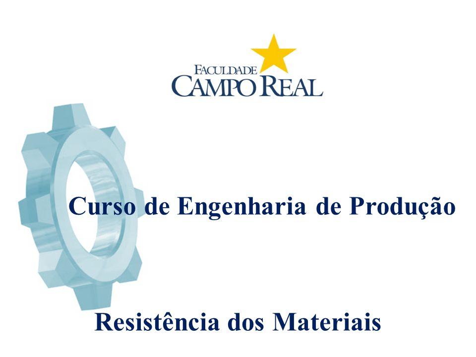 Curso de Engenharia de Produção Resistência dos Materiais