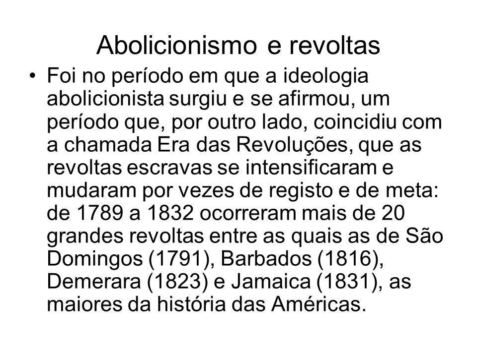Abolicionismo e revoltas