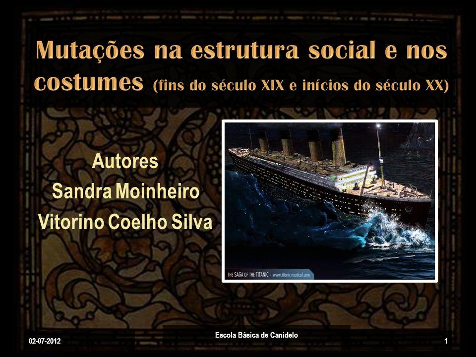 Autores Sandra Moinheiro Vitorino Coelho Silva