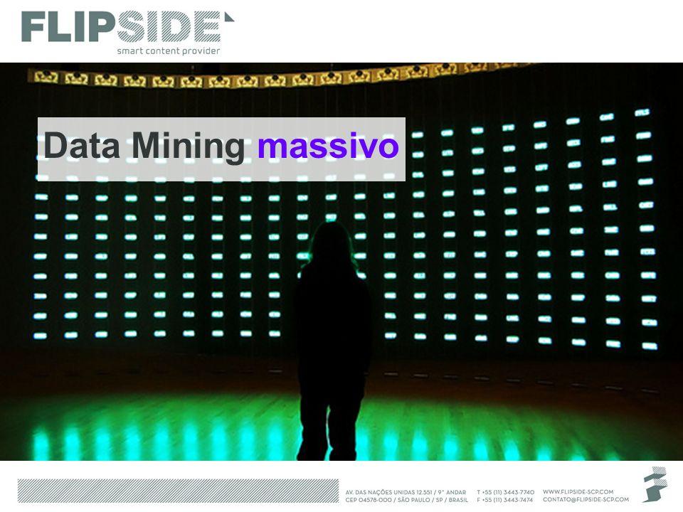 Data Mining massivo É possível alcançar o equilíbrio.