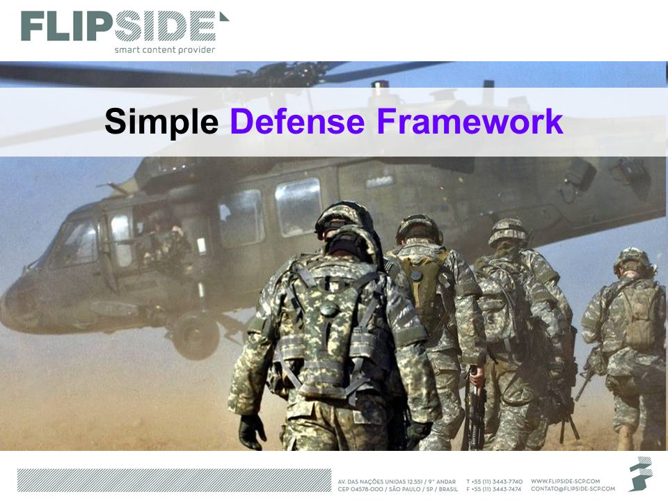 Simple Defense Framework
