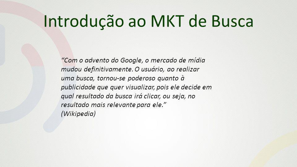 Introdução ao MKT de Busca