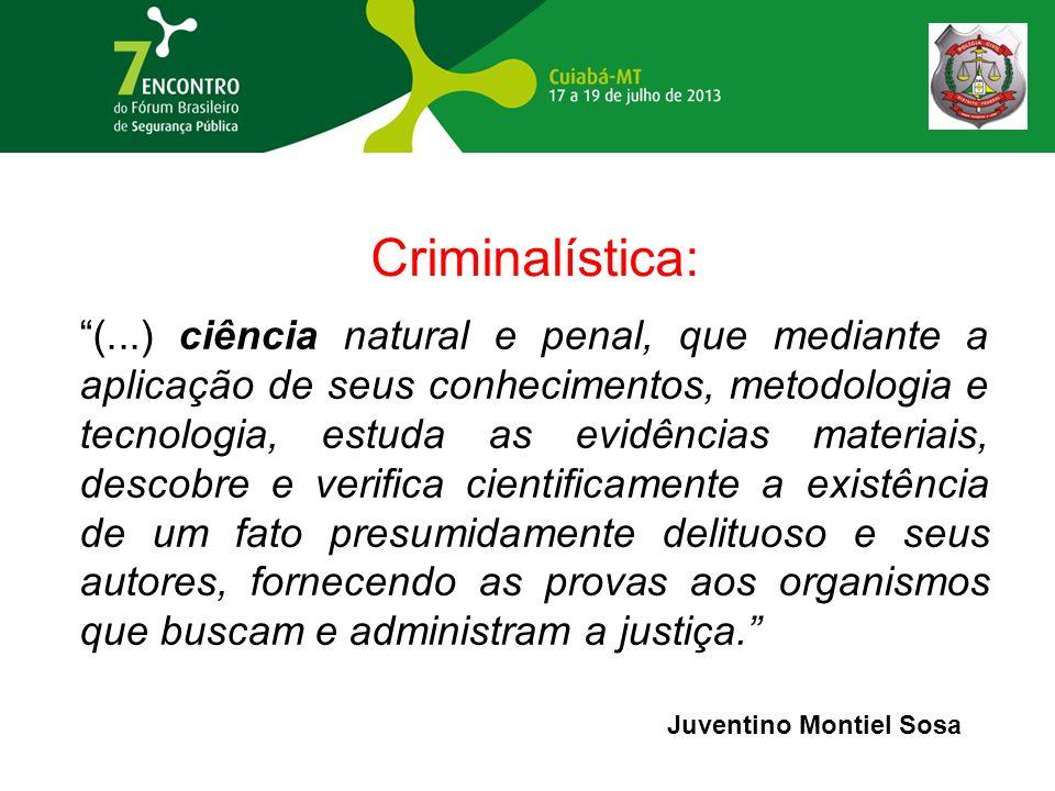 Criminalística: