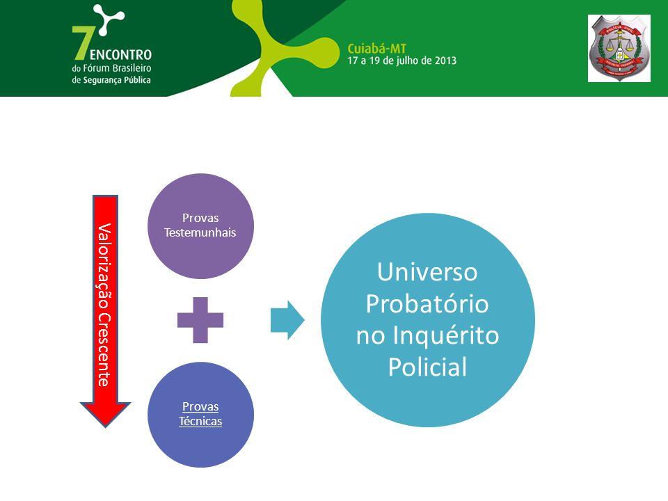 Universo Probatório no Inquérito Policial