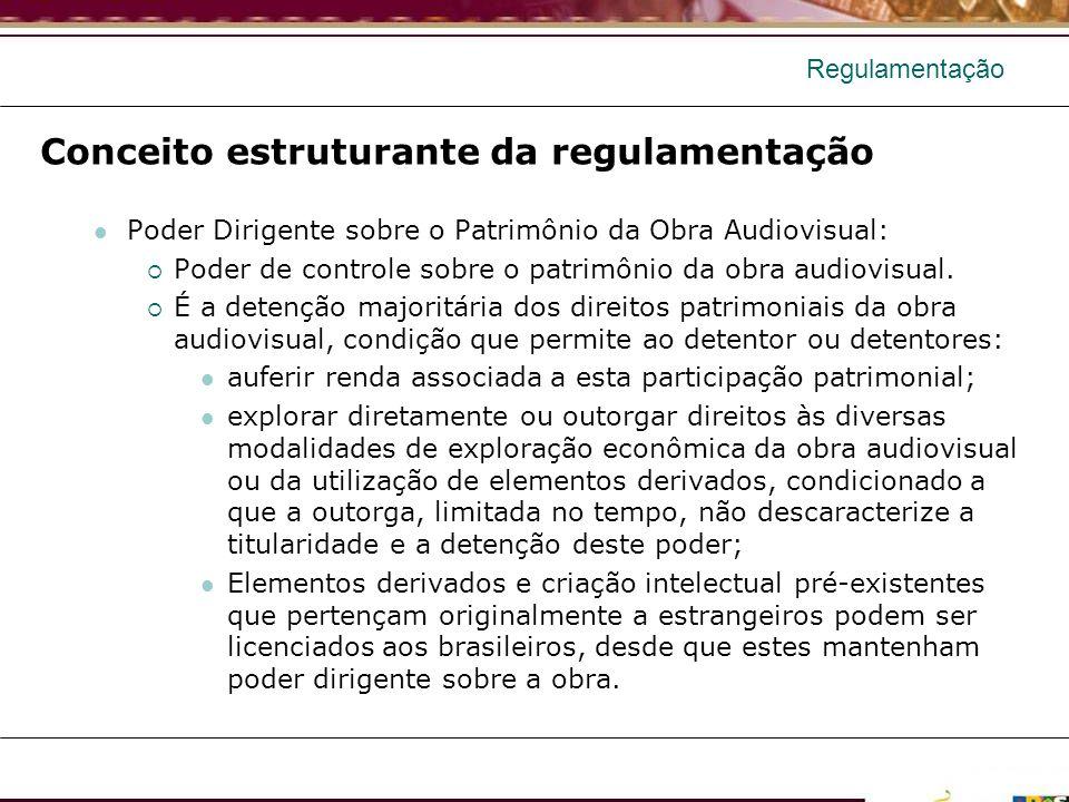 Conceito estruturante da regulamentação