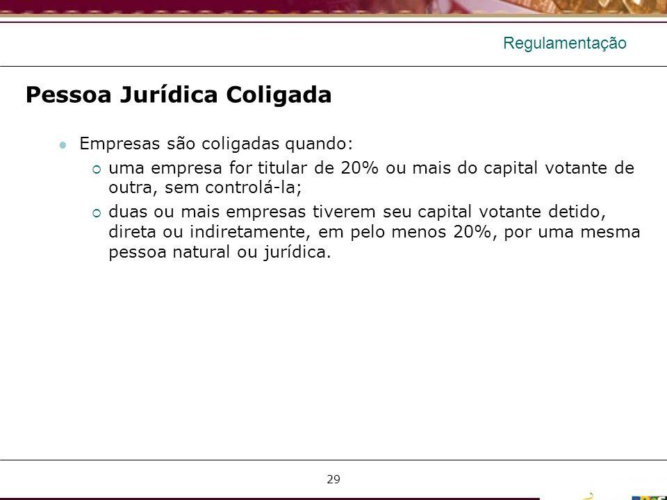 Pessoa Jurídica Coligada