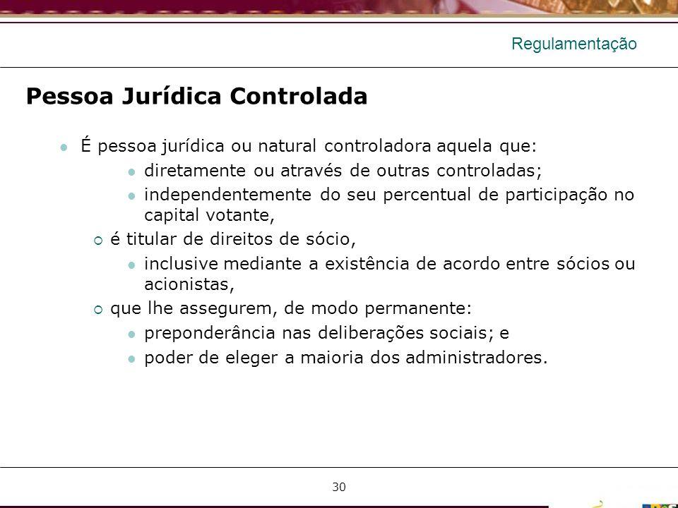 Pessoa Jurídica Controlada