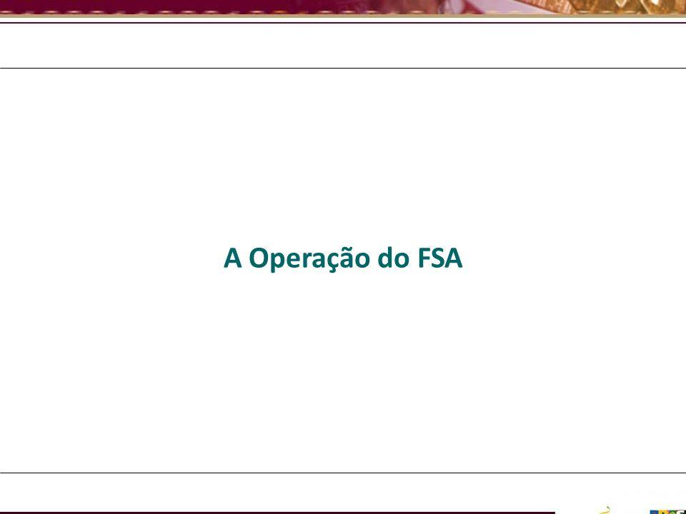 A Operação do FSA