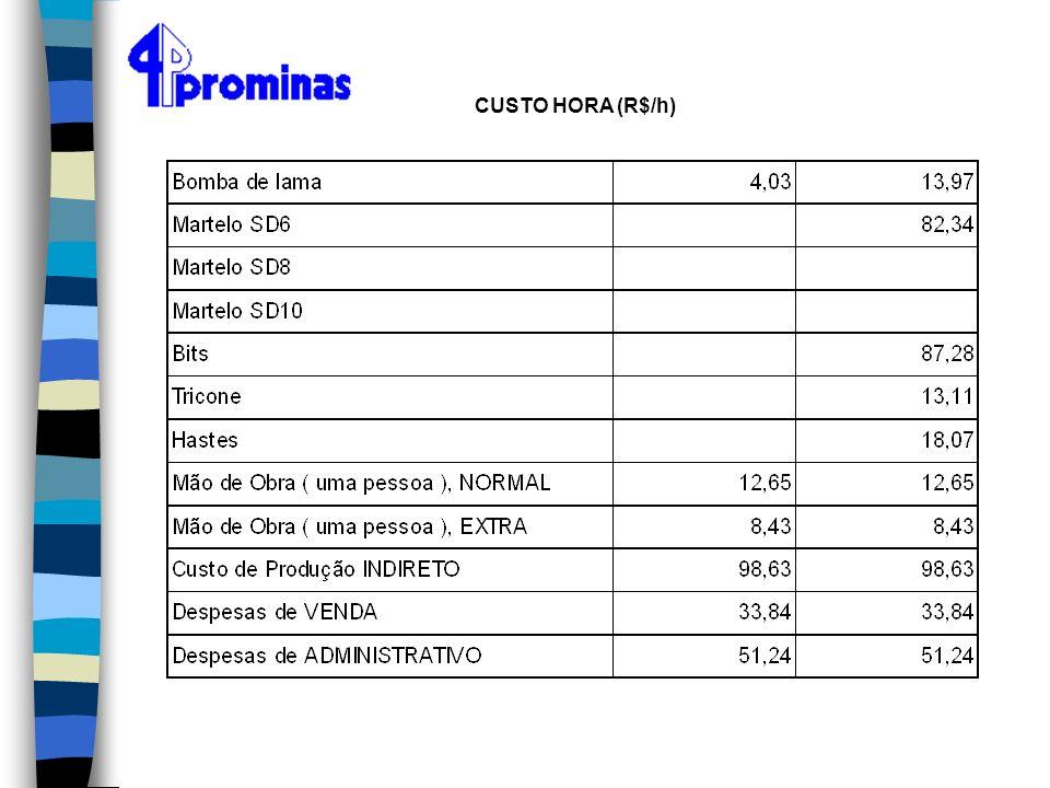 CUSTO HORA (R$/h)
